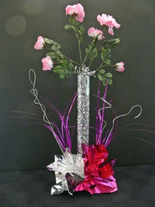 DIY Silk Flower Wedding Centerpiece I