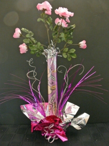 DIY Silk Flower Wedding Centerpiece II