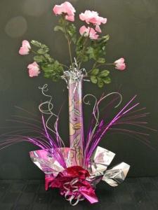 DIY Silk Flower Wedding Centerpiece II