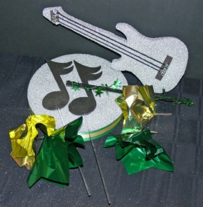Do It Yourself Guitar Centerpiece Kit