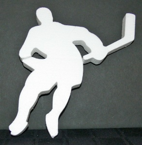 Ice Hockey Player Cut Out