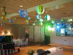 Beach Theme Party Room Decor