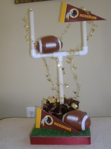 Football DIY Centerpiece