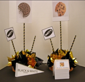 Cookie Centerpiece Theme For Bar Mitzvah Party Event