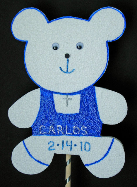 Custom Baby Bear Cutout