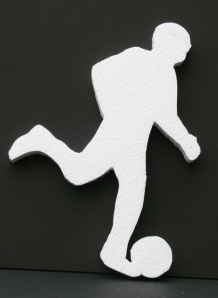Soccer Player Cut Out